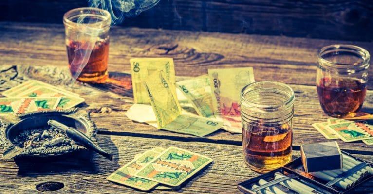 Illegales Glücksspiel als Ablenkmanöver