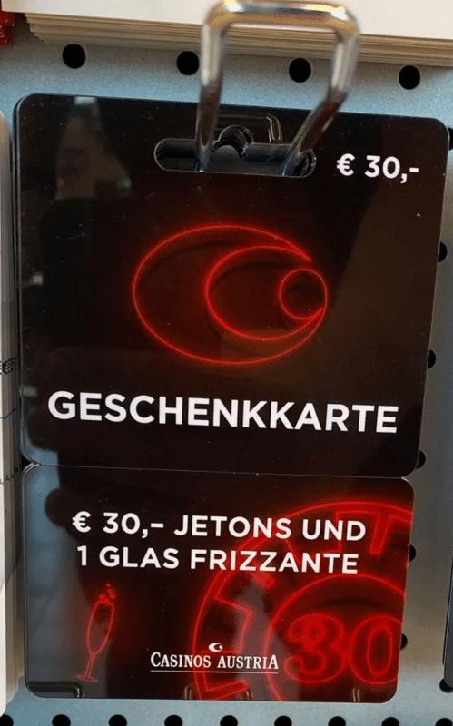 Casinos Austria Gutschein